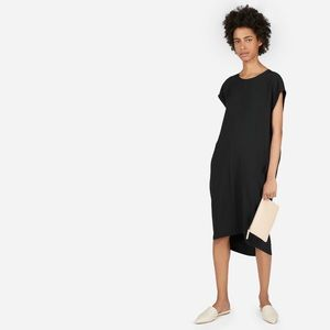 Everlane Black Midi Dress